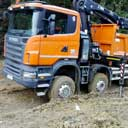 SCANIA & Hiab 280 arm